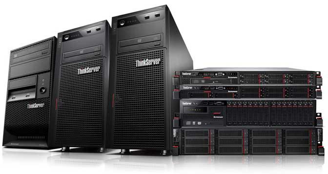 Servery IBM Lenovo